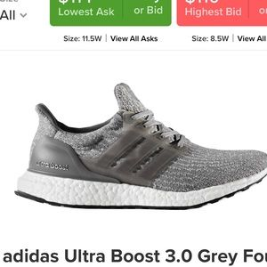 010df5a9ee7c5 adidas Shoes - Adidas ultra boost!